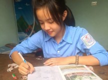 Cảm động bức thư cô bé lớp 9 gửi người mẹ đã khuất