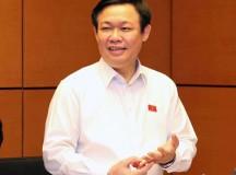 Dứt khoát không nới trần nợ công, PTT Vương Đình Huệ nói