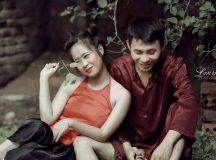 Khoảnh khắc bộ ảnh cưới Chí Phèo – Thị Nở của cặp đôi Quỳnh Lưu