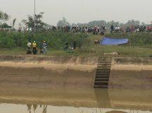 Phát hiện một thi thể có nhiều vết chém nổi trên sông