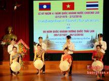 Đại học Vinh tổ chức Lễ kỷ niệm Quốc khánh Lào và Thái Lan