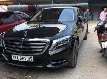 """Mercedes S600 giá 14,2 tỷ đeo """"biển khủng"""" nhất Nghệ An"""