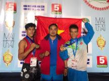 Võ sĩ Việt Nam lần thứ 7 vô địch Muay Thái thế giới