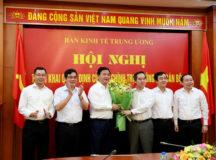 Ông Đinh La Thăng nhậm chức Phó ban Kinh tế Trung ương