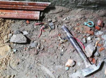 Sửa nhà trong huyện ủy, 3 thợ bị điện giật thương vong