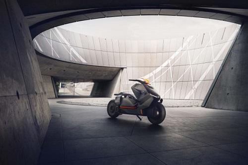 bmw motorrad concept link: xe tay ga den tu tuong lai hinh anh 5