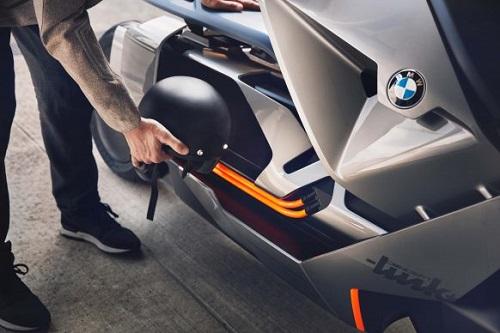 bmw motorrad concept link: xe tay ga den tu tuong lai hinh anh 3