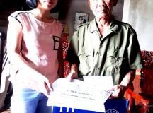 Nhóm thiện nguyện ủng hộ Phó Bí thư Đoàn bị nạn do sửa nhà cho dân 50 triệu đồng