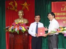Công bố Quyết định bổ nhiệm Phó Bí thư Huyện ủy Con Cuông