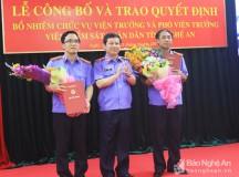 Nghệ An có tân Viện trưởng Viện kiểm sát nhân dân tỉnh