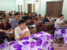 Tân Kỳ khai giảng lớp học tiếng Thái