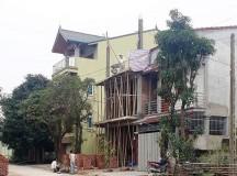 TP Vinh, Nghệ An: Xây nhà trên đất nằm ngoài sổ đỏ, phường làm ngơ?