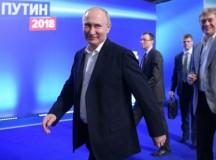 Ủy ban Bầu cử Trung ương Nga công bố kết quả bầu cử tổng thống