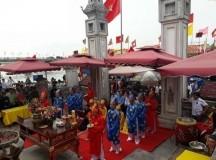 Thị xã Hoàng Mai tưng bừng khai mạc Lễ hội Đền Cờn 2018