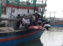 Bị tai nạn khi tời lưới một ngư dân tử vong