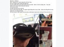 Tài xế lên Facebook tìm hành khách bỏ quên 8.300USD để trả lại