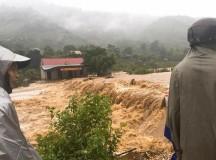 Tìm thấy 35 người mất liên lạc khi vào rừng hái măng trước bão số 3